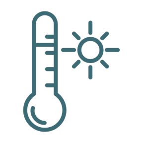 Icon Graphic - #SimpleIcon #IconElement #sun #summer #summertime #sunny #thermometer #temperature