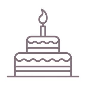 Icon Graphic - #SimpleIcon #IconElement #sweet #celebrate #baked #celebration #bakery