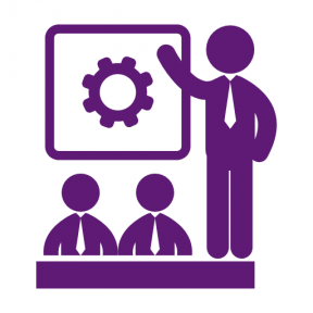Icon Graphic - #SimpleIcon #IconElement #symbol #business #presentation #humanpictos #gear #meeting #class #people