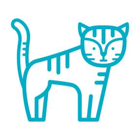 Icon Graphic - #SimpleIcon #IconElement #tiger #mammal #animal #life #kingdom