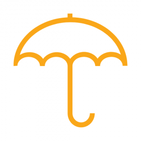 Icon Graphic - #SimpleIcon #IconElement #Tools #utensils #and #rain #rainy #umbrella #weather
