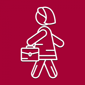 Icon Graphic - #SimpleIcon #IconElement #women #worker #purse #people #dress #girl