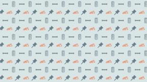 HD Pattern Design - #IconPattern #HDPatternBackground #shapes #weapons #shape #star #pin