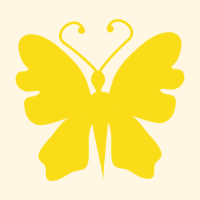 Icon Graphic - #SimpleIcon #IconElement #animals #insects #insect #top #butterflies #butterfly #animal #view #black