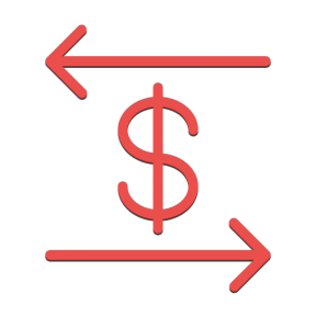 Icon Graphic - #SimpleIcon #IconElement #currency #symbol #business #banking #arrows #dollar #bank