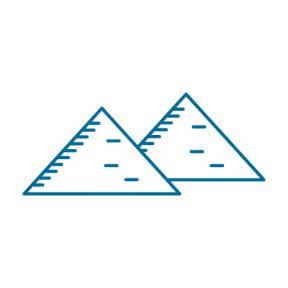Icon Graphic - #SimpleIcon #IconElement #egypt #cairo #monuments #pyramid