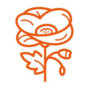 Icon Graphic - #SimpleIcon #IconElement #gardening #nature #garden #flower #park #Papaveraceae