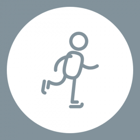 Icon Graphic - #SimpleIcon #IconElement #man #shapes #symbol #essentials #geometric #stick #circle #roller #sportive #skate
