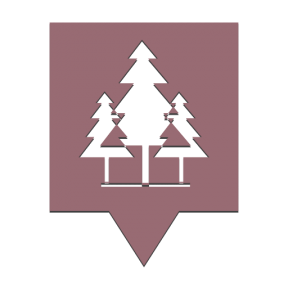 Icon Graphic - #SimpleIcon #IconElement #Maps #pins #park #pointer #map #point #Flags #forest #location