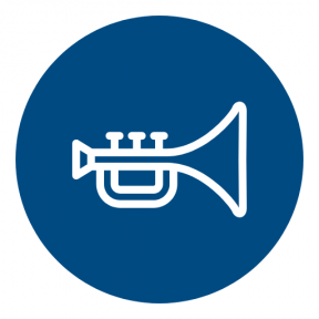 Icon Graphic - #SimpleIcon #IconElement #shapes #instrument #Jazz #musical #geometric #symbol #shape