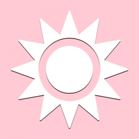 Icon Graphic - #SimpleIcon #IconElement #shapes #shape #outer #sun #star #stars #space