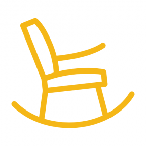 Icon Graphic - #SimpleIcon #IconElement #sitting #swing #livingroom #chair #chairs #rocking #hammock