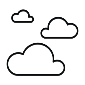 Icon Graphic - #SimpleIcon #IconElement #summer #cloudy #cloud #sky #summertime #weather