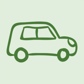 Icon Graphic - #SimpleIcon #IconElement #transport #hand #travel #drawn #outline #outlined #vehicle #car #view