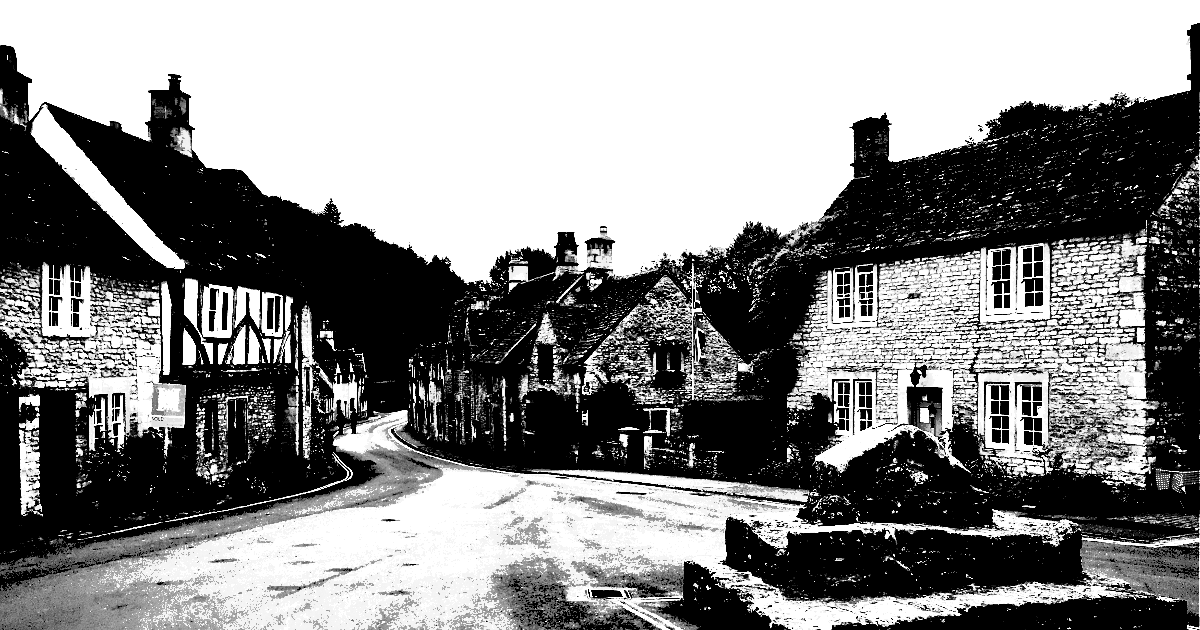 Town,                Black,                And,                White,                Monochrome,                Photography,                Street,                House,                History,                Almshouse,                Village,                Sky,                Medieval,                 Free Image