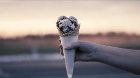 Photo Filter - #PhotoEffect #PhotoFilter #PhotographyFilter #cone #holding #ice #cream #Hand #dairy #dessert
