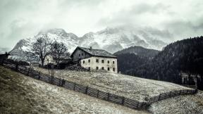 Photo Filter - #PhotoEffect #PhotoFilter #PhotographyFilter #landforms #mountain #alps #range #mountainous #hill #winter #station