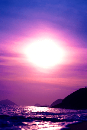 Photo Filter - #PhotoEffect #PhotoFilter #PhotographyFilter #sea #view #ocean #horizon #sky #shore #afterglow #calm #Purple