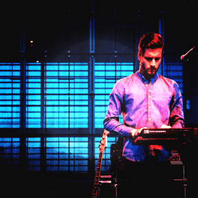 Photo Filter - #PhotoEffect #PhotoFilter #PhotographyFilter #singing #concert #keyboard #stage #rock #playing #musician #entertainment
