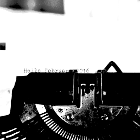 "Photo Filter - #PhotoEffect #PhotoFilter #PhotographyFilter #2016"" #paper #equipment #ribbon #office #exterior #February #typewriter #supplies"