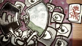 Photo Filter - #PhotoEffect #PhotoFilter #PhotographyFilter #design #street #brick #spacey #mural #graffiti