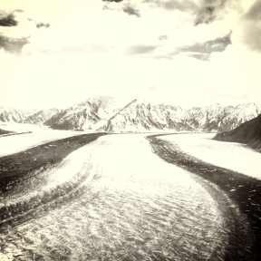 Photo Filter - #PhotoEffect #PhotoFilter #PhotographyFilter #towards #patches #moraine #sky #with