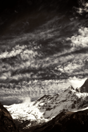 Photo Filter - #PhotoEffect #PhotoFilter #PhotographyFilter #sky #Machhapuchhre #near #Base #cloud #phenomenon #summit #landforms #wilderness #Light