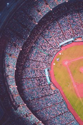 Photo Filter - #PhotoEffect #PhotoFilter #PhotographyFilter #baseball #stadium #sky #photography #circle #structure #venue #Rogers #sport