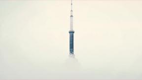 Photo Filter - #PhotoEffect #PhotoFilter #PhotographyFilter #fog #through #morning #sky #tower #city #foggy #Observation #breaks #clouds