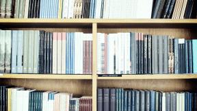 Photo Filter - #PhotoEffect #PhotoFilter #PhotographyFilter #shelf #bookcase #library #Uppsala #four