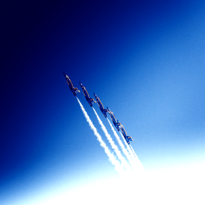 Photo Filter - #PhotoEffect #PhotoFilter #PhotographyFilter #wallpaper #Five #show. #water #aviation #daytime #of #aerobatics #airplanes #energy