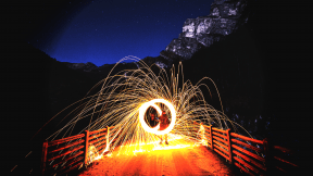 Photo Filter - #PhotoEffect #PhotoFilter #PhotographyFilter #sparklers #mode #nature #lighting #person #transport #A #infrastructure #circles