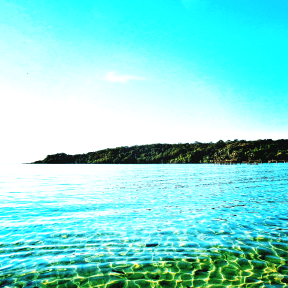 Photo Filter - #PhotoEffect #PhotoFilter #PhotographyFilter #clear #promontory #green #resources #blue #coast #coastline