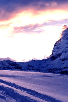 Photo Filter - #PhotoEffect #PhotoFilter #PhotographyFilter #A #alps #mountainous #winter #landform #arctic #mountain #sky #Zermatt #covered