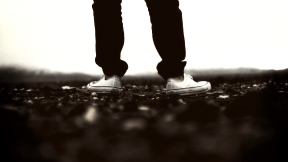 Photo Filter - #PhotoEffect #PhotoFilter #PhotographyFilter #shoe #sneakers #ground #shot #water #person #standing #sky #converse