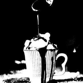 Photo Filter - #PhotoEffect #PhotoFilter #PhotographyFilter #dairy #dessert #sundae #irish #chocolate #cream #syrup #cup #drink #flavor