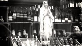Photo Filter - #PhotoEffect #PhotoFilter #PhotographyFilter #A #beverage #Mary #drink #wine #statue #distilled #with