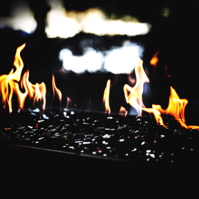 Photo Filter - #PhotoEffect #PhotoFilter #PhotographyFilter #charcoal #fire #fireplace #patio #Flames #heat #flame #outdoor #stone