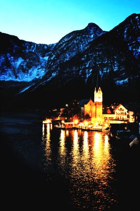 Photo Filter - #PhotoEffect #PhotoFilter #PhotographyFilter #attraction #alps #reflection #sky #mountain #evening #nature