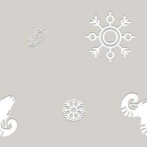 Pattern Design - #IconPattern #PatternBackground #snowy #zodiac #snow #orienta #cold #snowing #frontal #asian