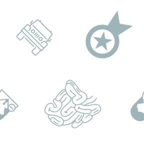 Pattern Design - #IconPattern #PatternBackground #organs #star #digestion #stars #delete #transportation