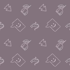 Pattern Design - #IconPattern #PatternBackground #direction #sketched #option #petals #message #garden #interface