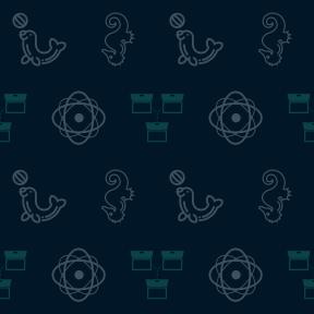 Pattern Design - #IconPattern #PatternBackground #materials #horses #symbols #animals #educational #atom #atomic #life