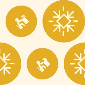 Pattern Design - #IconPattern #PatternBackground #student #geometrical #snowy #shapes #study #circle #shape #learning #snow