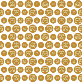 Pattern Design - #IconPattern #PatternBackground #cat #button #animals #persian #kitty #add