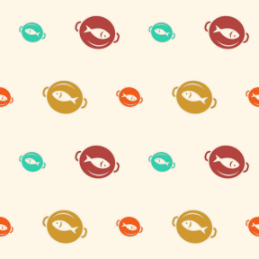 Pattern Design - #IconPattern #PatternBackground #food #cooking #eating #japanese