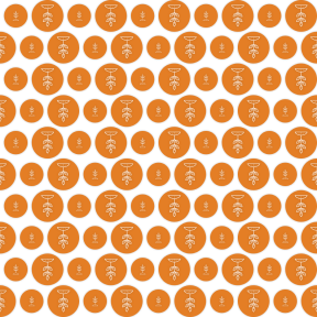 Pattern Design - #IconPattern #PatternBackground #shapes #circle #leaf #circles #circular