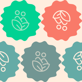 Pattern Design - #IconPattern #PatternBackground #ecologism #raggedborders #business #swirly #circles #jagged #frames #decorative #man #leaves