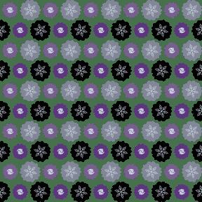 Pattern Design - #IconPattern #PatternBackground #jagged #fishes #winter #ovals #swirly #circles