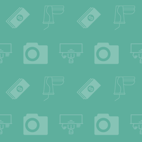 Pattern Design - #IconPattern #PatternBackground #money #man #working #table #bill #interface #antique #cameras #commercial #administrator
